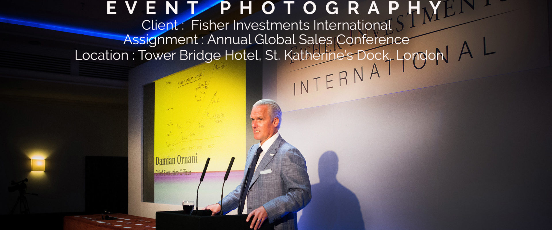 PHOTOGRAPHY OF FINANCIAL COMPANY EVENT & CONFERENCE