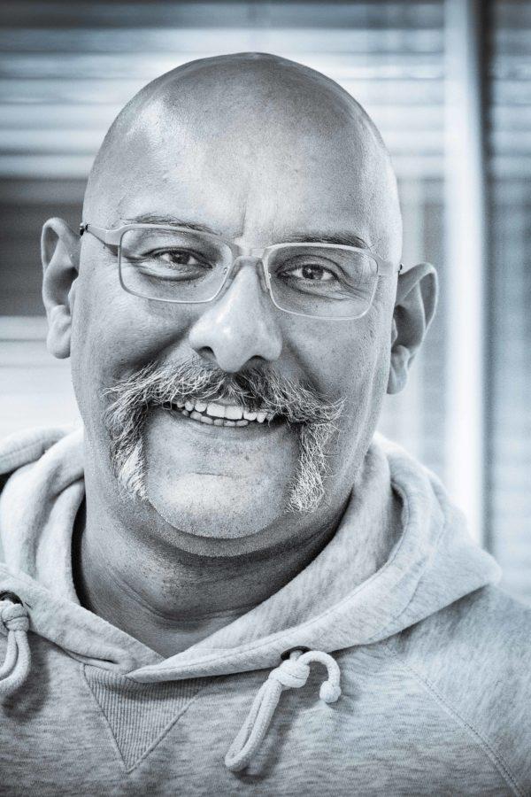 Headshot Employee Portrait taken in an office setting